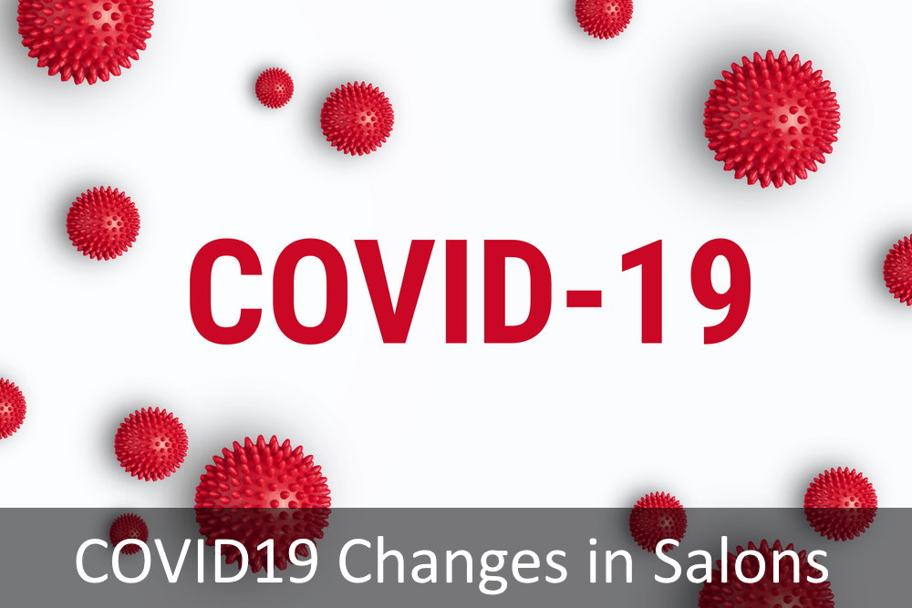 Salons will make changes due to COVID 19