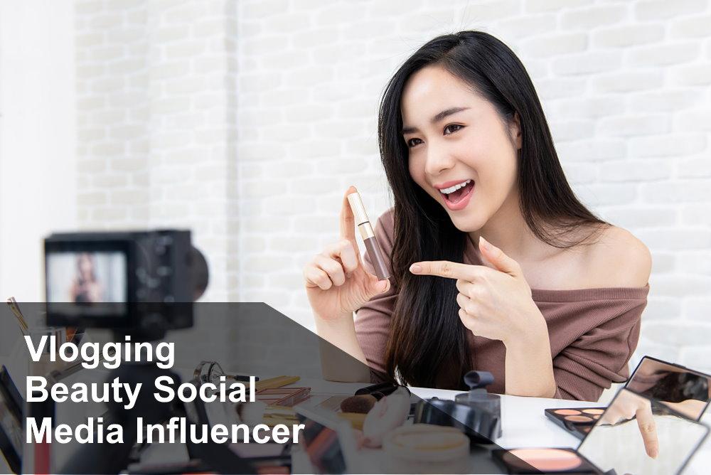 Vlogging Beauty Social Media Influencer